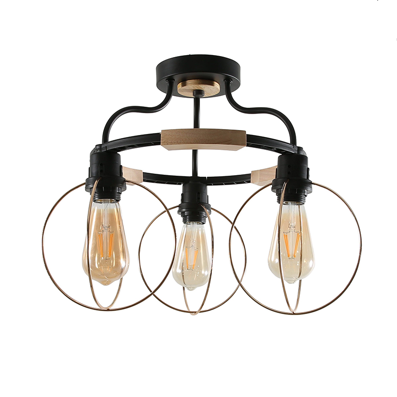 Nordic LED Chandelier Lights With Iron Lampshade For Living Room 220V Modern Wooden Lustres LED Light Wood Chandelier LightingNordic LED Chandelier Lights With Iron Lampshade For Living Room 220V Modern Wooden Lustres LED Light Wood Chandelier Lighting
