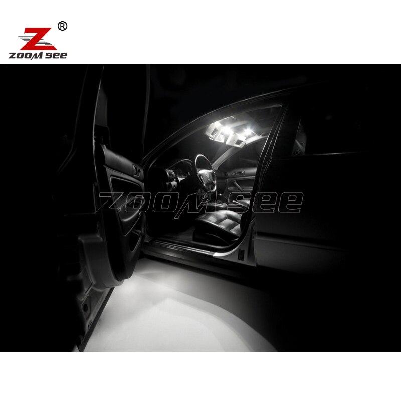 17 pcs lampu LED Interior dome peta Cahaya Kit untuk Volkswagen VW - Lampu mobil - Foto 6