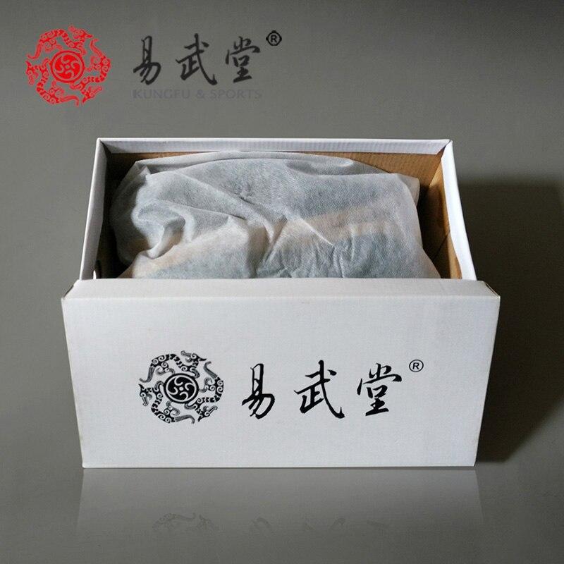 White Leather Tai Ji Shoes 2