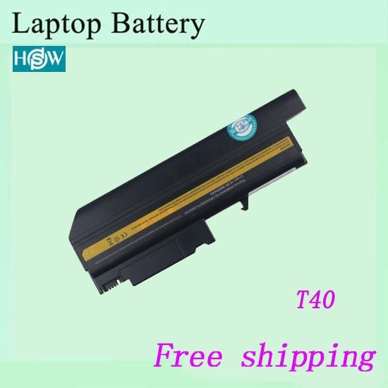 6600 мАч 9 CELL Аккумулятор для ноутбука IBM 93P5002 93P5003 asm 08K8192 asm 08K8196 asm 08K8197 asm 08K8198 ThinkPad T40-2374