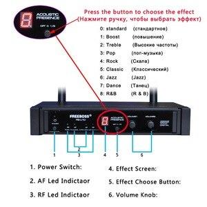 Image 3 - FB U10 Dual Way Digital UHF Microfono Senza Fili con 2 Metallo Palmari