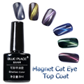 1pcs Blue Place 8ml Cat Eye Top Black Base Magnetic Foil Set Color Series Set Gel polish Soak Off UV Gel polish 6 Colors Set