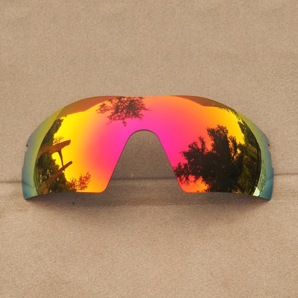 Midnight Sun Mirrored Polarized Replacement Lenses for Radar Pitch Sunglasses Frame 100% UVA & UVB Anti-scratch
