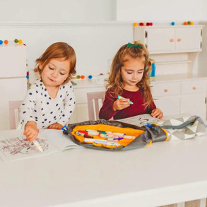 Image 2 - חדש נייד ילדים צעצוע אחסון תיק ולשחק מחצלת לגו צעצועי ארגונית שרוך פאוץ אופנה מעשי אחסון שקיות