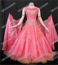 Ballroom  Waltz Tango Ballroom Dance Dress, Smooth Ballroom Dress,Standard Ballroom Dress Girls B-0082