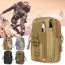 2018 Hot Soldiers Tactical Waist Bags, Military Backpack, 600D Outdoor Camping Hunting CS Sports Bag(China)