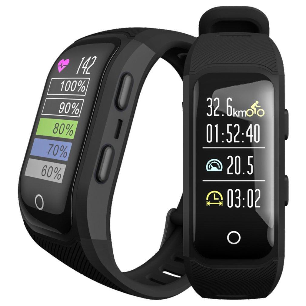GPS sportowe do biegania na zewnątrz smart Watch wielofunkcyjny tryb treningu kalorii na odległość prędkość odliczanie czasu zegarek dla Dropshipping w Zegarki cyfrowe od Zegarki na  Grupa 1