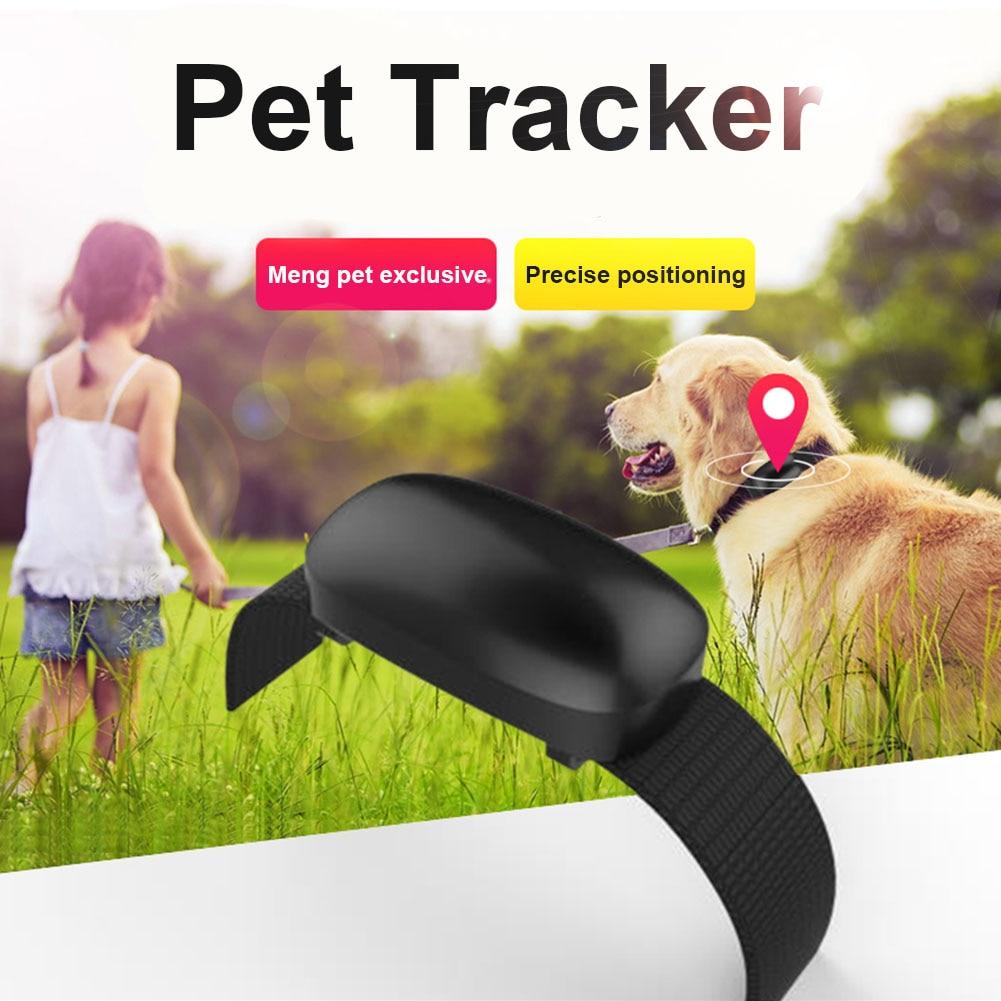 Pet Dog Cat GPS Phone Tracking Locator Collar Real Time Waterproof Mini Smart Anti-lost  ...