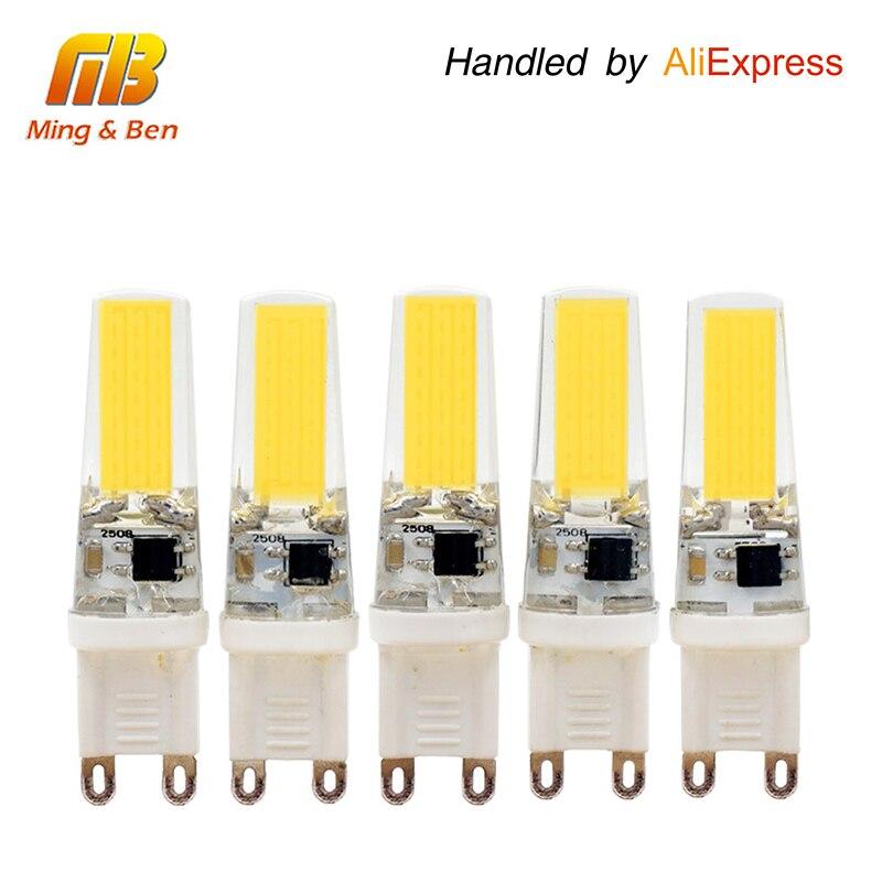 [Mingben] 5 шт. G9 светодиодные лампы затемнения Кукурузы Внимания AC 220 В 230 В 240 В 3 Вт 360 Угол луча удара чип заменить 30-40 Вт галогеновые лампы ...