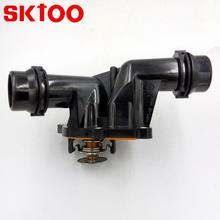 SKTOO Auto Thermostat For BMW 3 E46 Coupe/3 Saloon/3 Touring TERRA  1153 2 247 019 11532247019 70809199 Housing
