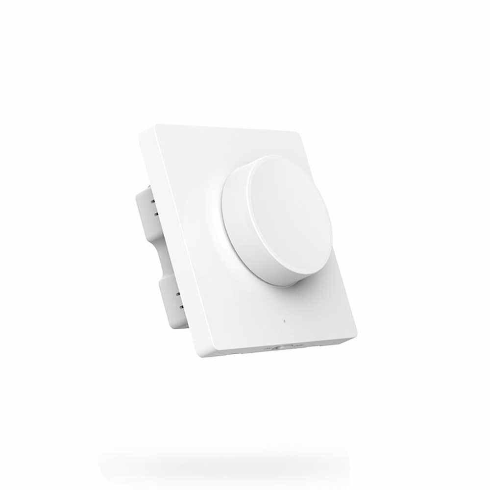 2019New xiaomi yeelight inteligentne pokrętło przełącznika wyłącznik ściemniacza przełącznik bezprzewodowy przełącznik do montażu ściennego inteligentna żarówka pilot do Mihome App