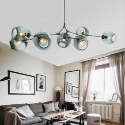 Lindsey Adelman Globe Branching Bubble Chandelier 110v 220v Modern Chandelier Light Lighting