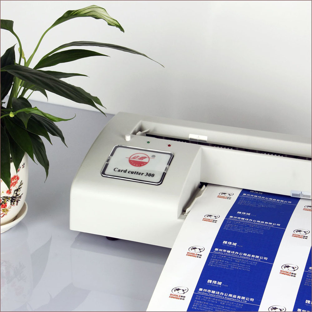 Automatic Business Card Cutter Binding machine Electric Cutter 90 ...