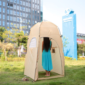 Image 5 - TOMSHOO Portable Outdoor Tents Shower Bath Changing Fitting Room Tent Shelter Camping Beach Privacy Toilet Camping & Hiking