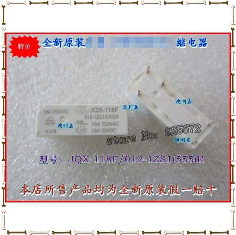Special offer * new original  relays JQX - 118 - f - 012-1 zs1 authentic  false a compensate ten  Free shipping