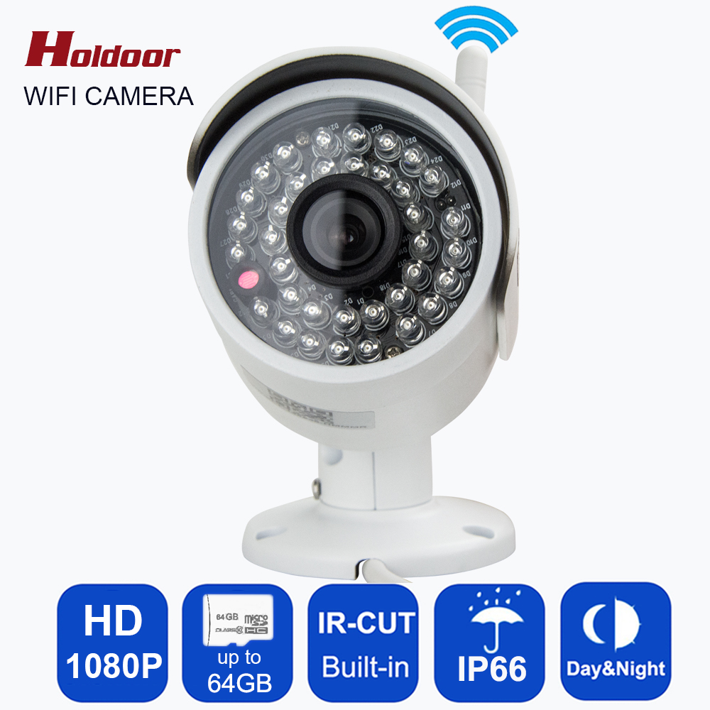 802.11 b/g Wifi Surveillance CCTV Camera Outdoor IP66 Waterproof IP 1080P Wifi wireless IP ONVIF 2.0 36pcs IR LED security bulle wistino 1080p 960p wifi bullet ip camera yoosee outdoor street waterproof cctv wireless network surverillance support onvif