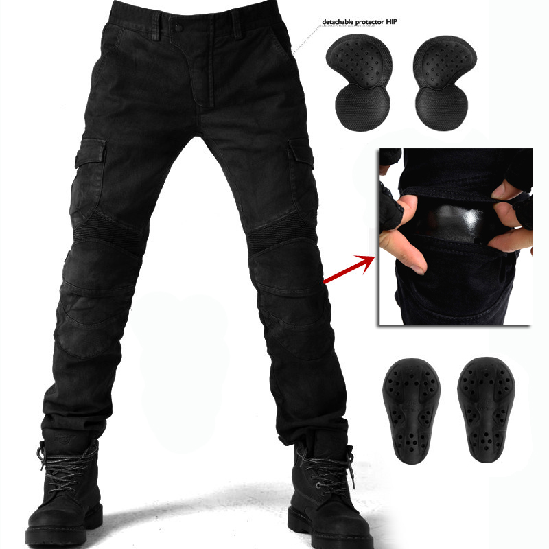 S 4XL Motorcycle Jeans Men s Biker 06 Protective Gear Motorbike Windproof Racing Jeans Riding Trousers