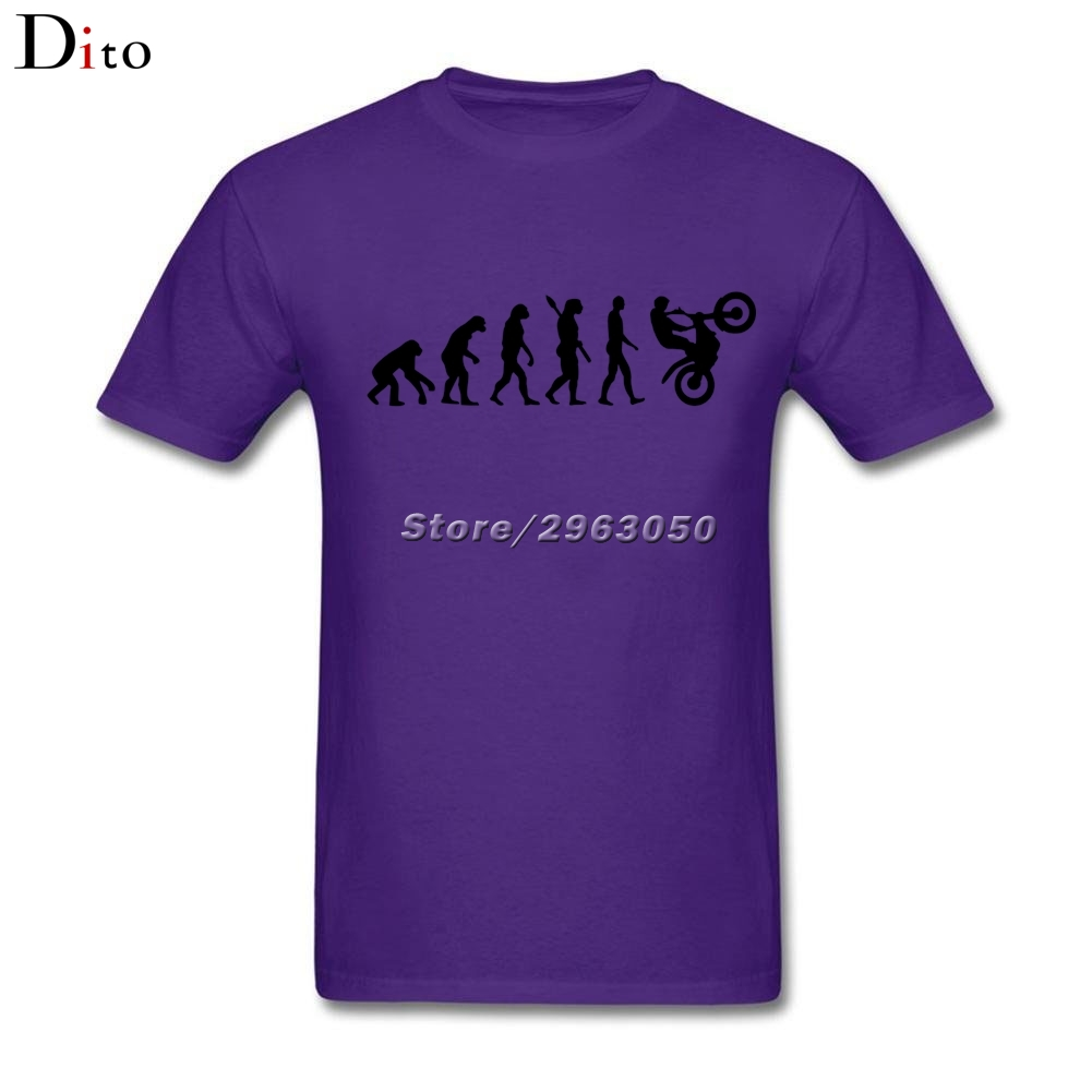 Эволюция Мотокросс футболка для мужчин лучшие предложения с коротким рукавом День Благодарения Пользовательские большой размер группы фу...