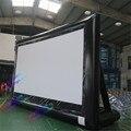 2.94*1.65 м 16:9 коммерческих открытый передней проекции Надувной Экран Кино