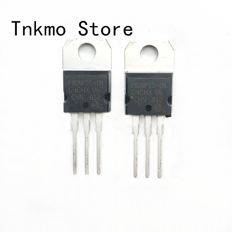 Free shipping 20PCS STP80NF55-08 TO-220 P80NF55-08 P80NF55 new and Original IC