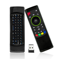 FM5S 2 4Ghz Wireless Keyboard 3 In1 Air Fly Mouse QWERTY GYRO Sensing Remote IR Learning