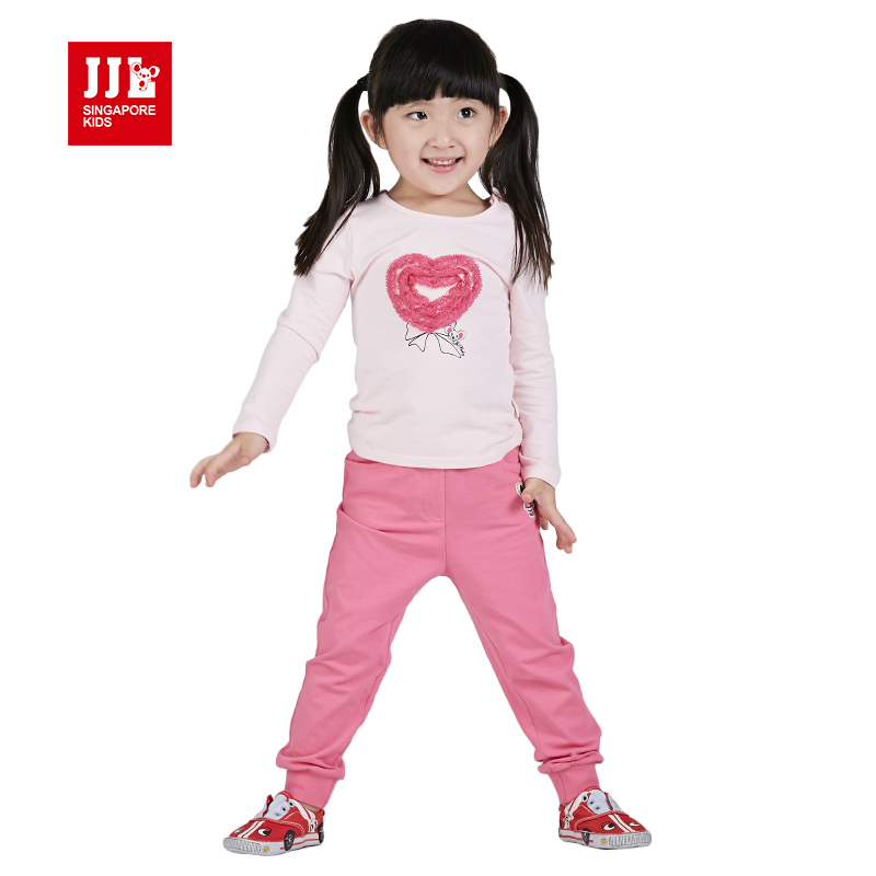 Baby Girl Suit Long Sleeve T Shirt Pants Kids Outfits Toddler Suits Kids Clothes Children Outfits