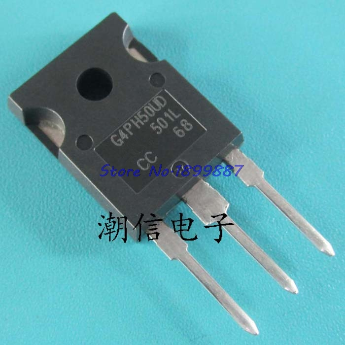 10pcs/lot IRG4PH50UD IRG4PH50 TO-247 G4PH50UD IGBT Transistor 1200V 5-40 KHZ ULTRAFAST COPACK New Original In Stock