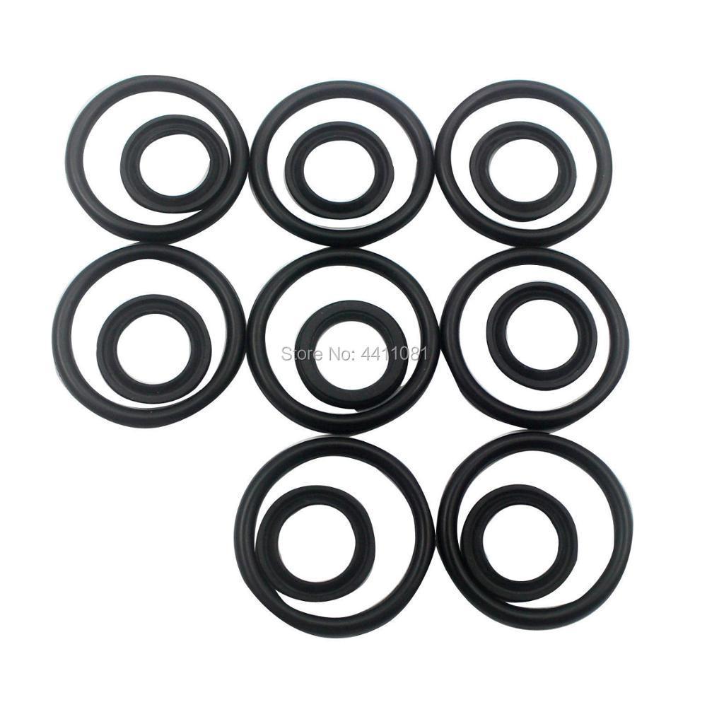 For Kobelco SK330-8 PPC Pilot Valve Seal Repair Service Kit Excavator Oil Seals, 3 month warranty excavator solenoid valve yn35v00050f1 sk260lc 8 sk330 8 sk350 8