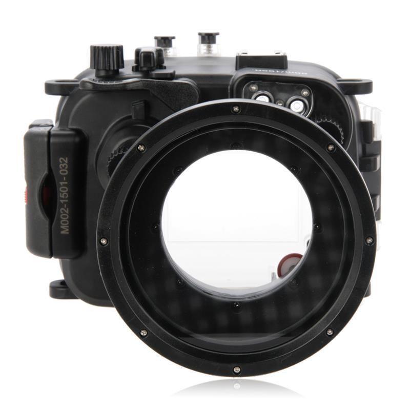 Waterproof Underwater Housing Camera Housing Case for canon G1X II Mark II G1XII 12.5-62.5mm camera WP-DC53 for canon g1x ii powershot meikon 60m 195ft underwater waterproof camera housing case g1x mark ii