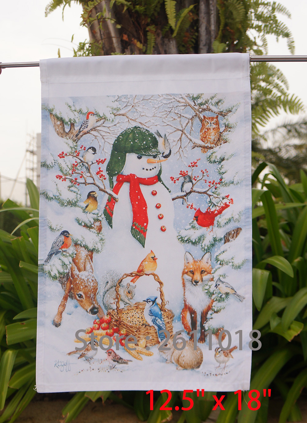 Online Buy Wholesale Animal Garden Flags From China Animal
