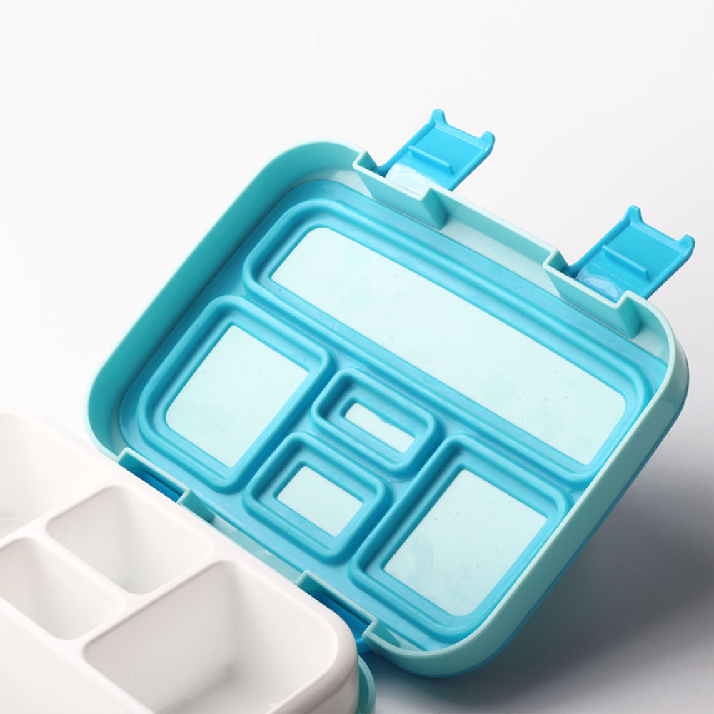 TUUTH Microwave Lunch Box Portable Multiple Grids Bento Box for School Student Kids Children Dinnerware Food Storage Container1