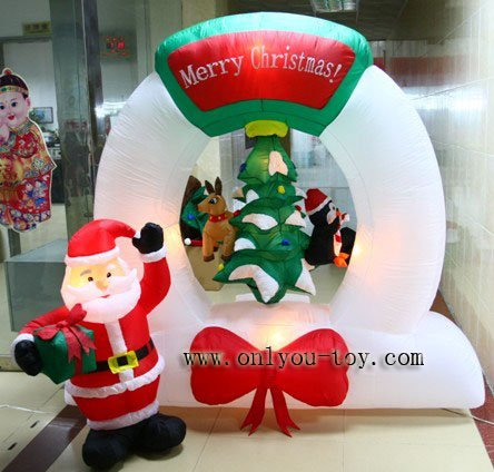 Genial Inflatable Snowman+inflatable Santa Claus+inflatable Christmas Decoration+ Inflatables+free Shipping