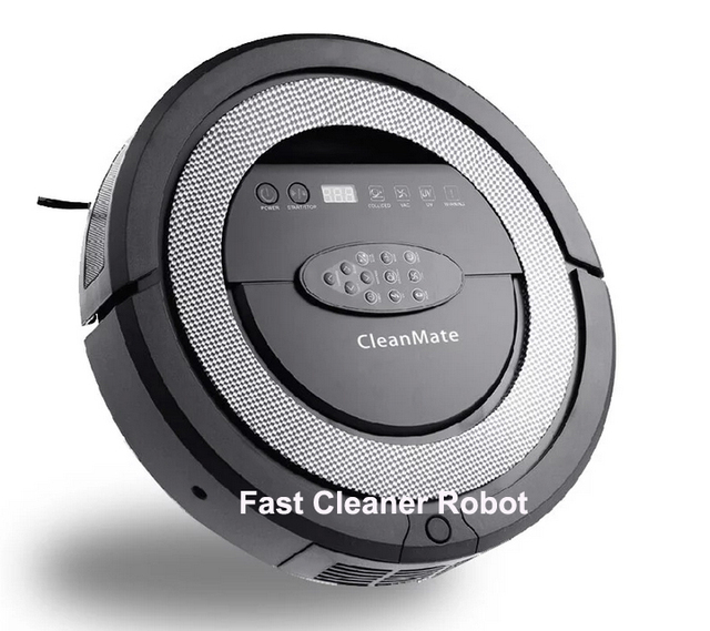 New Arrival Robotic vacuum cleaner,Never tangel hair,spot clean,autocheck dust,schedule work,HEPA Filter,Sonic-Wall