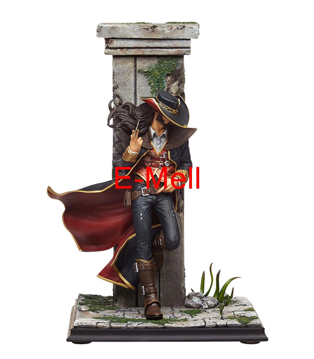 Cosplay LOL Card Master The original skin 23cm/9.1'' PVC GK Action Figures Toys Model Twisted Fate Garage Kits made for lol cosplay the loose cannon jinx 24cm 9 5 middle pvc gk action figures toys garage kits standing model