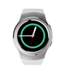 Smart watch s2 bluethooth sim-karte tf-karte pulsmesser smartwatch s2 für huawei apple samsung gear 2 s2 s3 moto 360 gt08