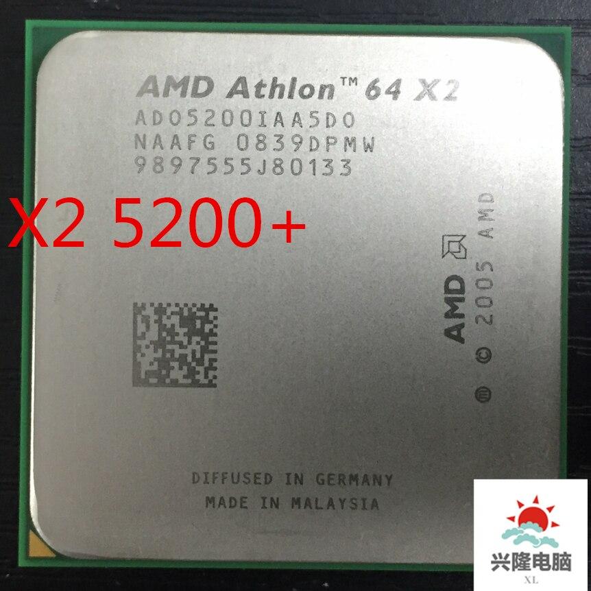 2.6 GHz Processor AMD Athlon 64 X2 Dual-Core 5200