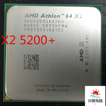 AMD Athlon 64 X2 5200+ x2 5200+  2.7Ghz   1MB Cache AM2 socket 940 pin Dual core CPU processor