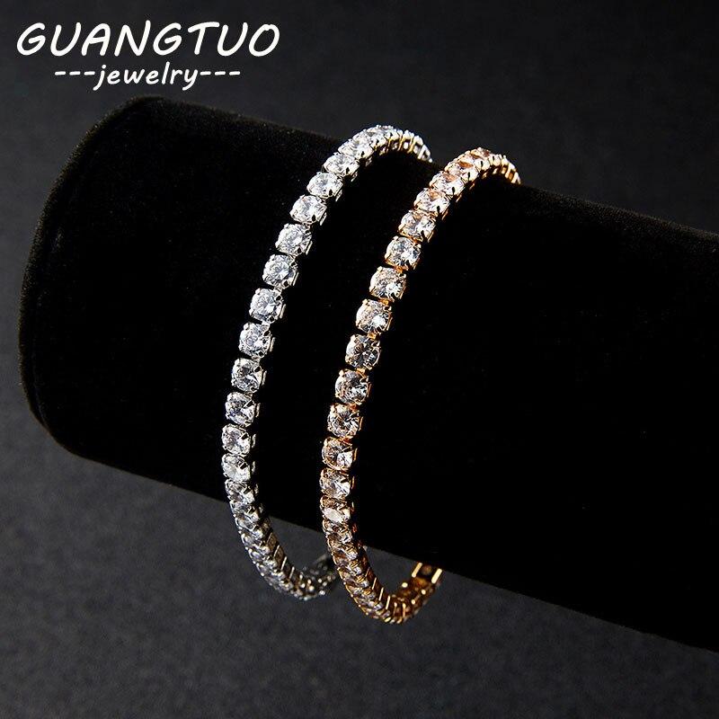 Korean Single Row Crystal Rhinestone Adjustable Elastic Women Bracelet Fashion Jewelry Gift Minimalism Bracelets Femmes LB003