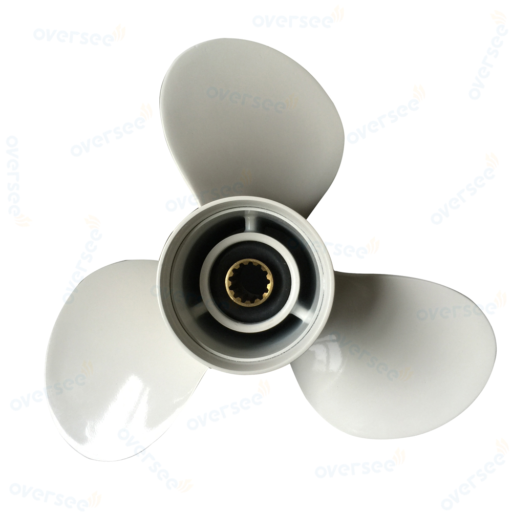 Aftermarket Outboard Propeller 25-60HP (Type G) 11 3/8 x 12 69W-45952-00-EL Replaces for Yamaha Outboard Motor Parts oversee propeller 6e5 45945 01 el 00 size 13 1 4x17 k for yamaha outboard motor motor 75hp 85hp 90hp 115hp 13 1 4x17 k page 8