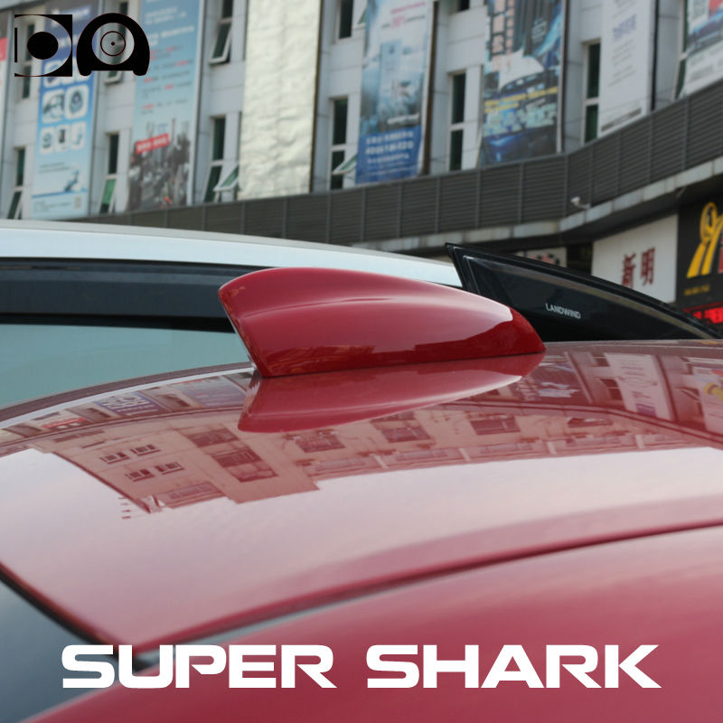Super shark fin antenna special car radio aerials with 3M adhesive for Renault Kadjar in Aerials from Automobiles Motorcycles