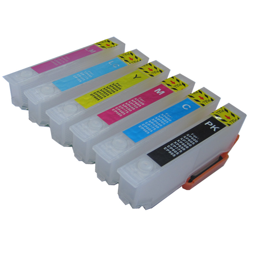 BLOOM IC6CL70 L ICBK70l IC70 refillable ink cartridge for EPSON EP-306 EP-706A EP-755A EP-776A EP-905A EP-905F EP-906F Printer ep 40