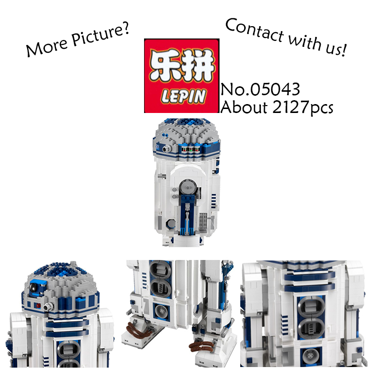 Lepin 05043 Star 2127Pcs War Series The Robot Set Out of print Building Blocks Bricks Toys for children gifts 10225 brinquedos new lepin 16009 1151pcs queen anne s revenge pirates of the caribbean building blocks set compatible legoed with 4195 children