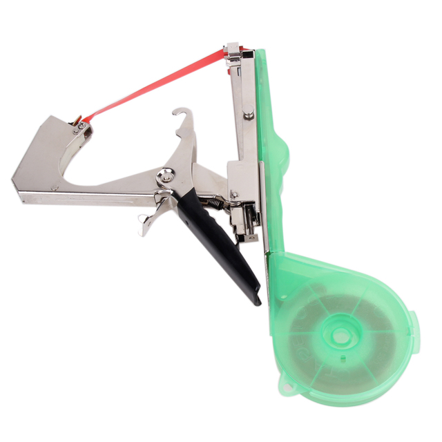 Plant Tying Tapetool Tapener Machine Branch Hand Tying Machine Garden Tool Tapetool Tapener Packing Vegetable\'s Stem Strapping