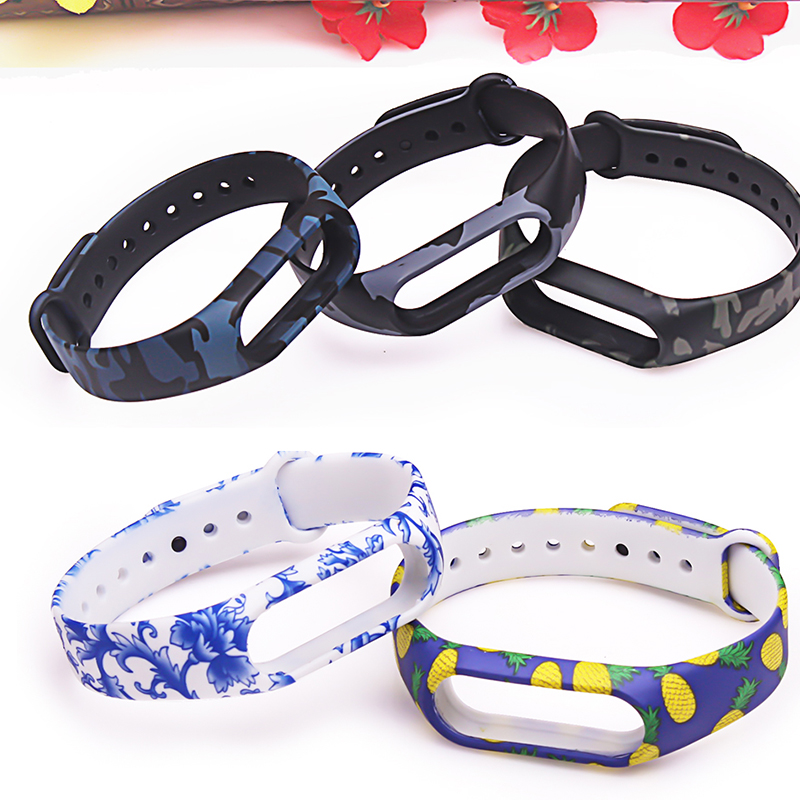 Image 5 - Pulsera miband 2 strap For xiaomi mi band 2 bracelet  Mi Band2 Accessories Smart correa wrist strap  with top quality silicone-in Smart Accessories from Consumer Electronics