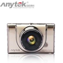 Лидер продаж оригинальный Anytek Видеорегистраторы для автомобилей A100 + Новатэк 96650 автомобильный Камера AR0330 1080 P WDR парковка Мониторы Ночное видение черный ящик подарок