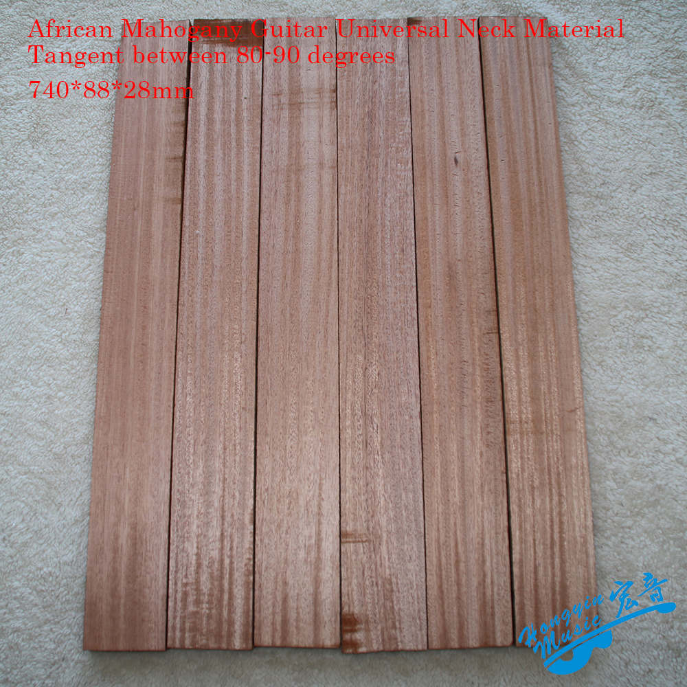 3A African Mahogany Guitar Universal Neck Material Tangent Between 80 90 Degrees High Quality DIY Handmade
