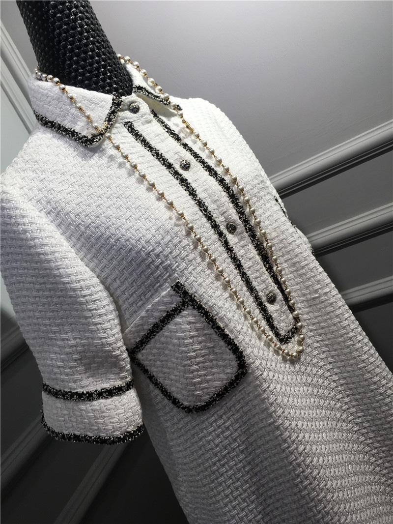 women elegant office dress,custom plus size xs-6xl,tweed winter dress,ladies vestidos de fiesta,tweed autumn White dress 6