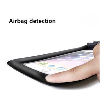 6 Inch Float Airbag Waterproof Swimming Bag Mobile Phone Case Cover Dry Pouch 8