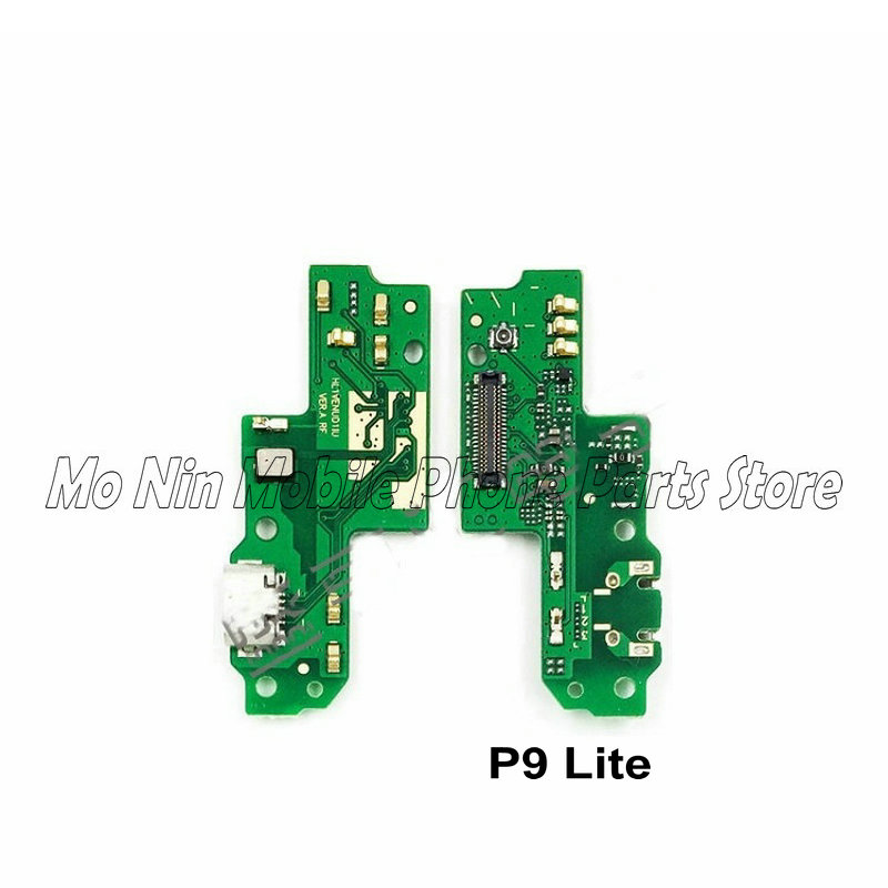 New Microphone Module+USB Charging Port Board Flex Cable Connector Parts For Huawei P9 / P9 Lite / P9 Plus Replacement