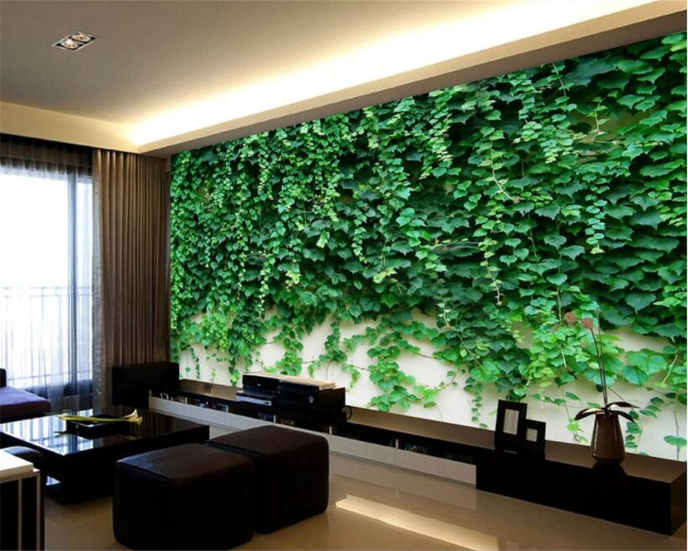 Beibehang Custom 3D Photo Wallpaper Natural Rose Wall